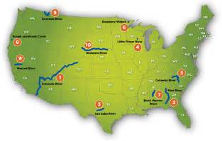 on us map best photos of colorado river on united states map