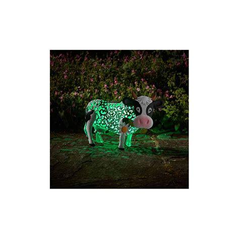 Vache Decorative by Vache D 233 Corative Solaire En M 233 Tal Jardin Et Saisons