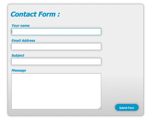 tutorial css form design style web forms using css sitepoint