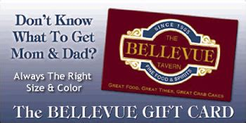 Bellevue Square Gift Card - the bellevue tavern gift cards