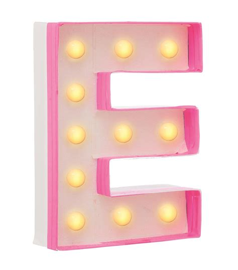 Home Decorative Items Online diy letter light e hema