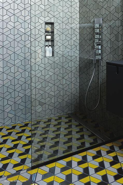 dwell bathrooms dwell pattern heath tiles bathrooms powder rooms pinterest