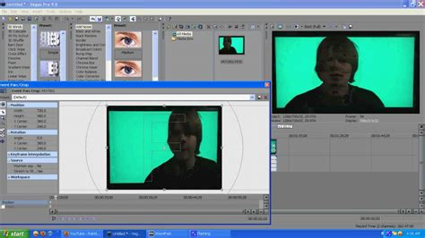 sony vegas pro green screen tutorial sony vegas pro 9 tutorial green screen effects and how