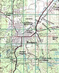 map index prescott city
