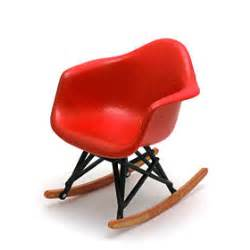 miniature eames rocking chair serenechoo miniature designer chairs