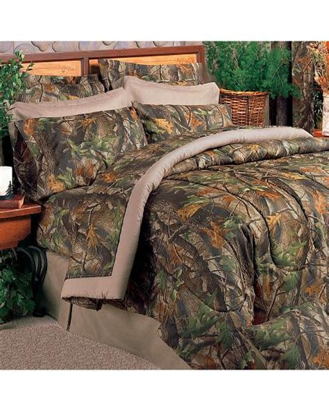 realtree hardwoods camo california king comforter set