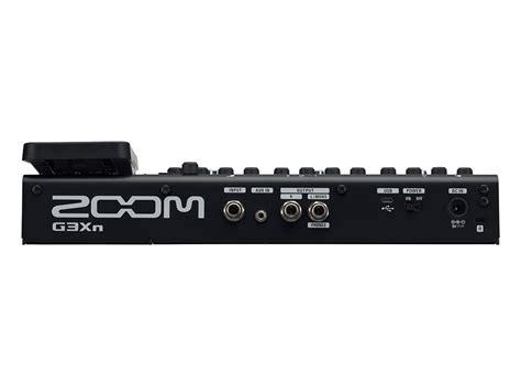 Zoom G3xn Multi Effects With Expression zoom g3xn guitar multi effects expression pedal multi