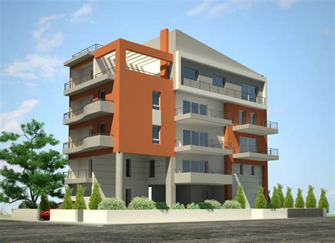 3 story building upavp 44 2bhk multi storey flats available in kanpur नए