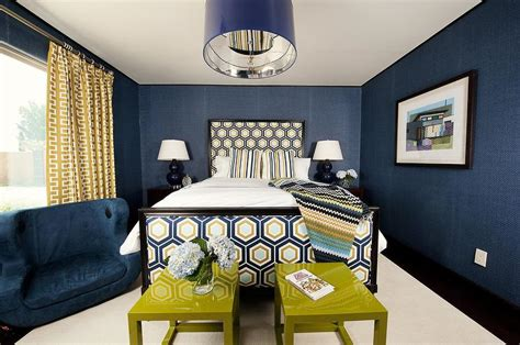 yellow and navy blue bedroom navy blue and yellow wallpaper wallpapersafari