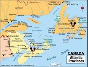 atlantic region canada maps