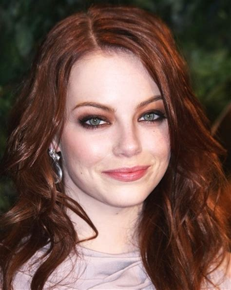 hair color for hazel green eyes women redhead tips emma stone red hair hazel eyes jpg how to