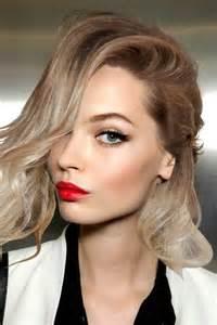 blonde lipstick colours red lipstick blonde hair b e a u t y pinterest