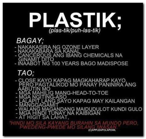 Kaibigang Plastik Quotes