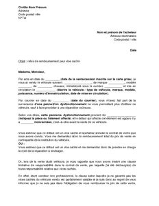 modele lettre decharge administrative