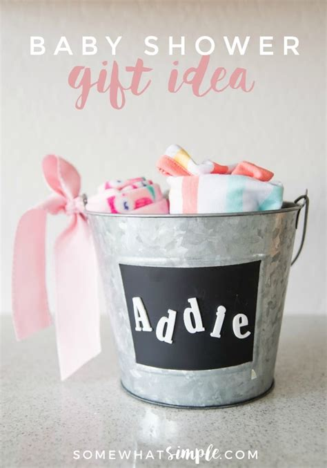 Easy Handmade Baby Gifts - handmade baby shower gift for somewhat simple