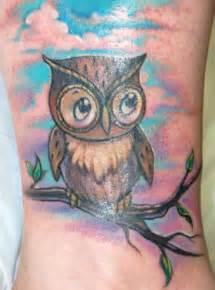 cute owl by anthony plaza tattoonow