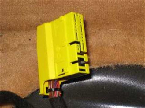 porsche airbag resistor wiring the airbag resistor 997 1 series 4 2s 4s