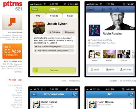 layout aplikasi mobile pttrns referensi dan perbandingan design aplikasi mobile