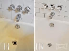 How To Remove Spray Paint From Bathtub Diy Bathtub Refinishing Beautiful Matters