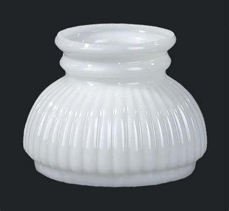 shade ribs usa made miniature opal glass rib shade 00100 b p l