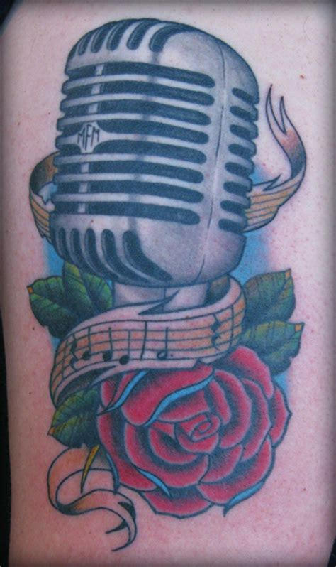mic roses 187 black amp blue tattoo