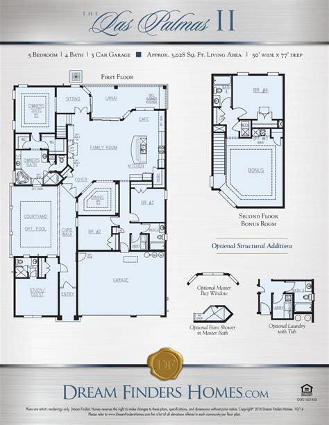 dream finders homes floor plans dream finders homes tuscany floor plan