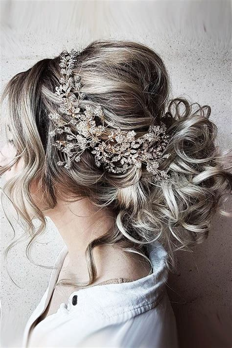 Wedding Hairstyles For Grey Hair by Bridal Hairstyles 30 Bridal Hairstyles For Big