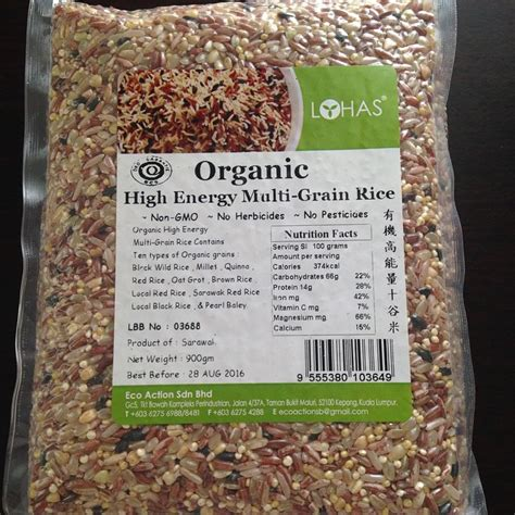 Pearl Quinoa 250 Gr organic high energy multi grain rice 900 gr jual