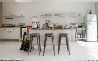 Retro Kitchen Worktops by Modern Retro Kitchen Daily Mail