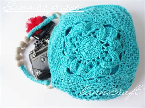 pattern crochet wallet hannicraft crochet purse for the summer