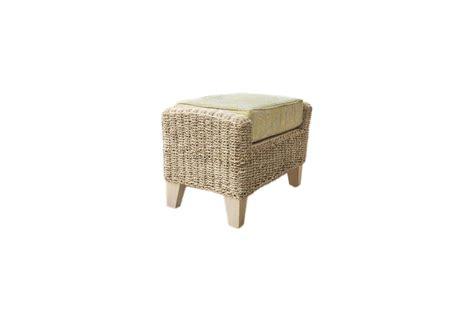 pebble wicker rattan conservatory furniture footstool