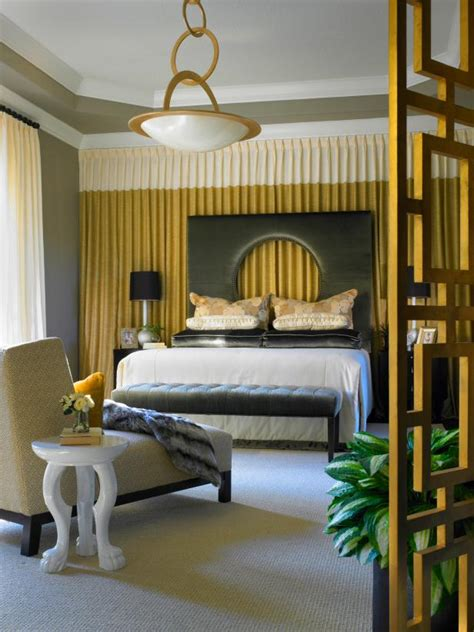 gold bedroom walls photo page hgtv