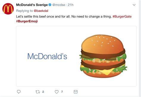 emoji burger mcdonald s india and kfc join the burger emoji debate