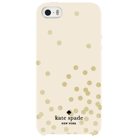 Kate Spade New York 2 Iphone All Semua Hp kate spade new york confetti iphone 5 5s se fitted shell gold iphone 5s 5