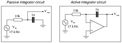 pulse integrator circuit ac negative feedback op circuits analog integrated circuits worksheets
