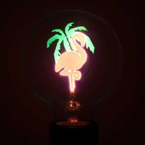 Flamingo Lights by Flamingo Globe Filament Light Bulb