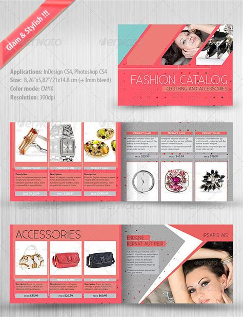 16 catalog psd flyer images psd product catalog template