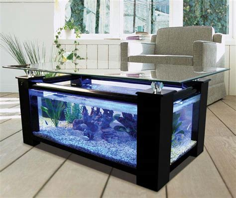 diy fish tank coffee table coffee table ideas designs