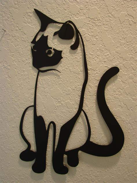 hanging decorations for home wall art design ideas stainless steel cat wall art sle