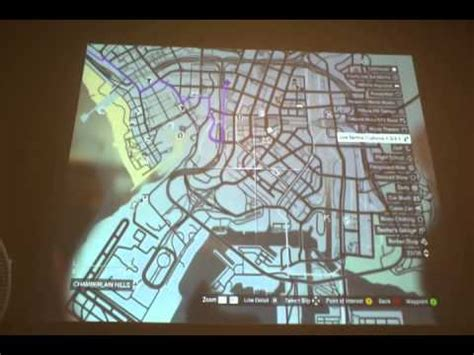 grand theft auto v map locations for gauntlet missions