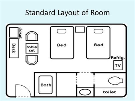layout of housekeeping presentation presentation housekeeping