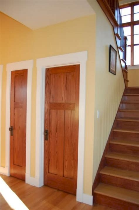 wood door with white trim freshouz