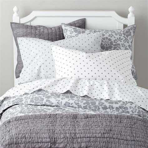 gray quilt bedding kids blankets kids bedding the land of nod