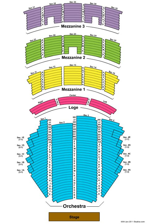 paramount theater seattle seating chart island medium tickets paramount theatre seating chart