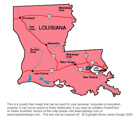 louisiana map capital louisiana state capital map