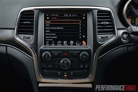 Jeep Uconnect Australia 2014 Jeep Grand Limited V6 Review