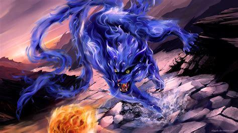 Kaos Anime Tailed Beast anime bijuu nibi olggah tailed beast 1920 215 1080 beast and anime