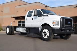 2016 ford f 650 scorpion powerstroke diesel crew cab