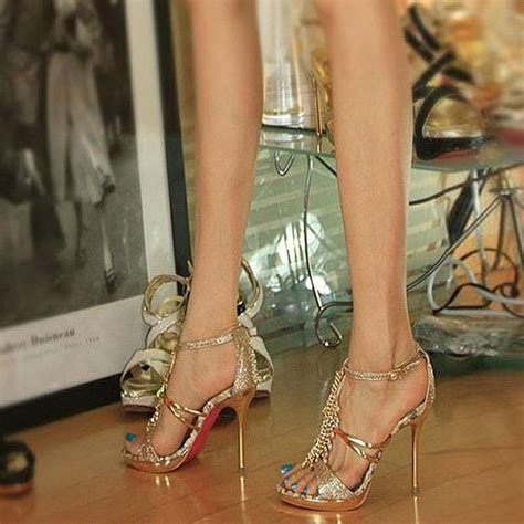 Heels Lj 05 Gold Best Buy 17 Best Images About Amazing Gold High Heels On