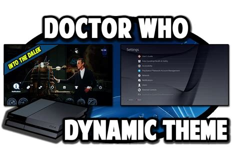 ps4 themes not working ps4 themes doctor who into the dalek dynamic theme video